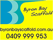 byron bay scaffold